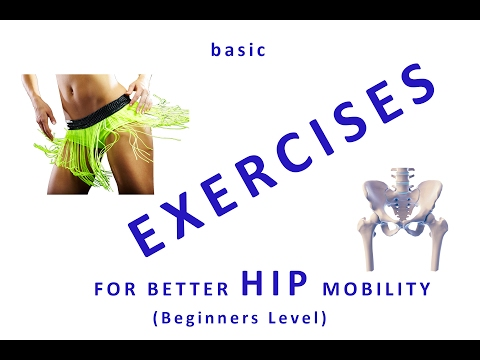 How to mobilize the hip joints and increase blood circulatio