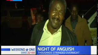 Night of anguish as motorists spend night along Nakuru-Nairobi highway following heavy traffic jam