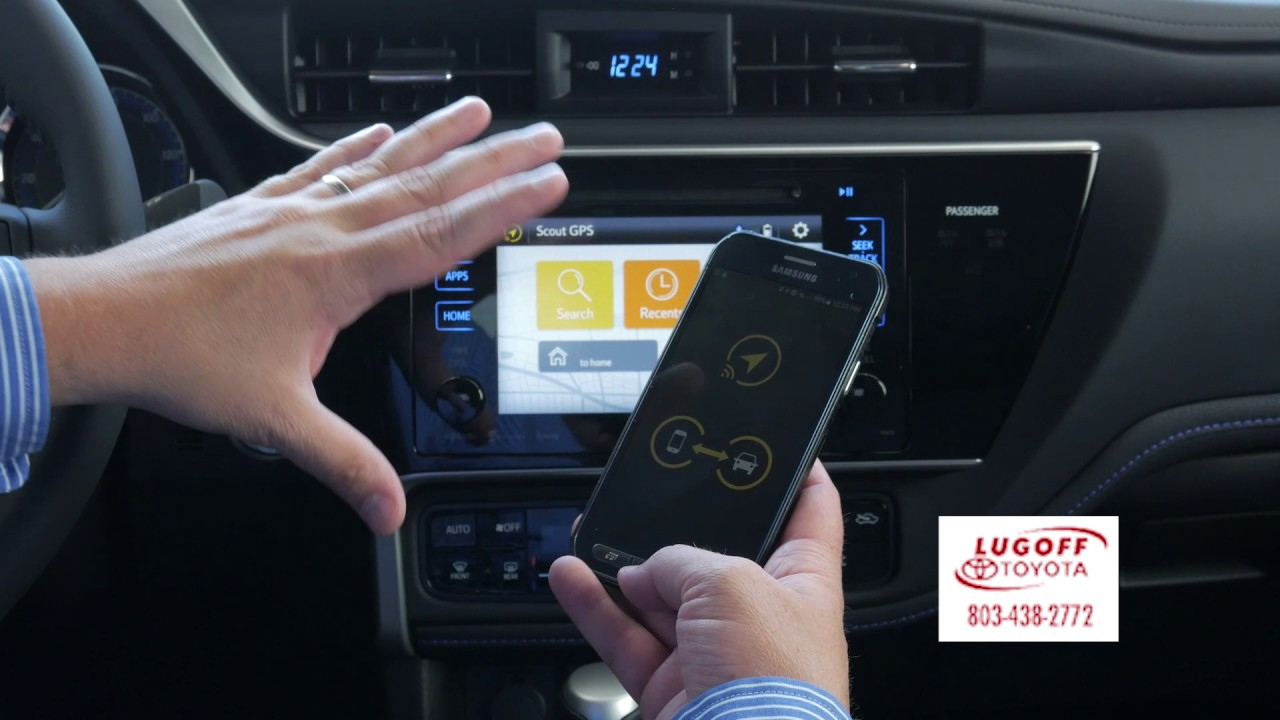 Scout GPS link on your new Toyota