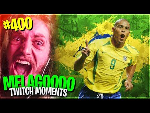 IL MASSEO SCARTA RONALDO IL FENOMENO PRIME E QUITTA FIFA | Melagoodo Twitch Moments [ITA] #400