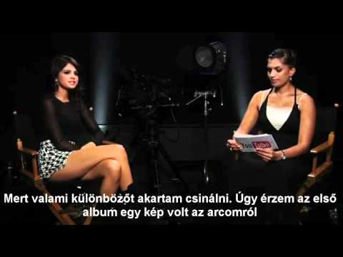 Selena live chat from YouTube's offices magyar felirattal