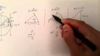 lim x→0 sin(x)/x ispatı Video