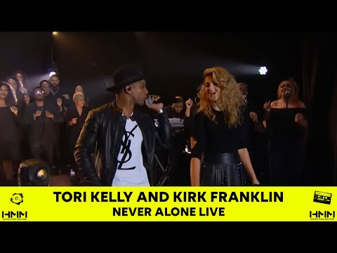 Tori Kelly - Never alone ft Kirk Franklin on James Corden