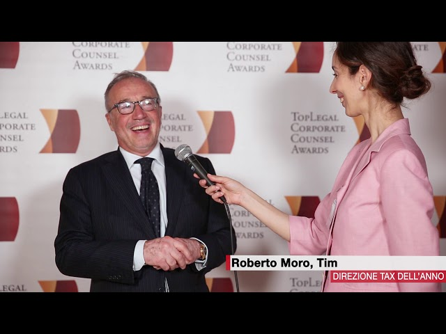 Roberto Moro, Tim - TopLegal Corporate Counsel Awards 2018