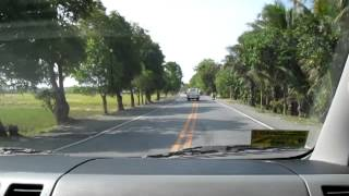 Philippine Nautical Highway, Passing through Bansud, Or. Mindoro.MOV