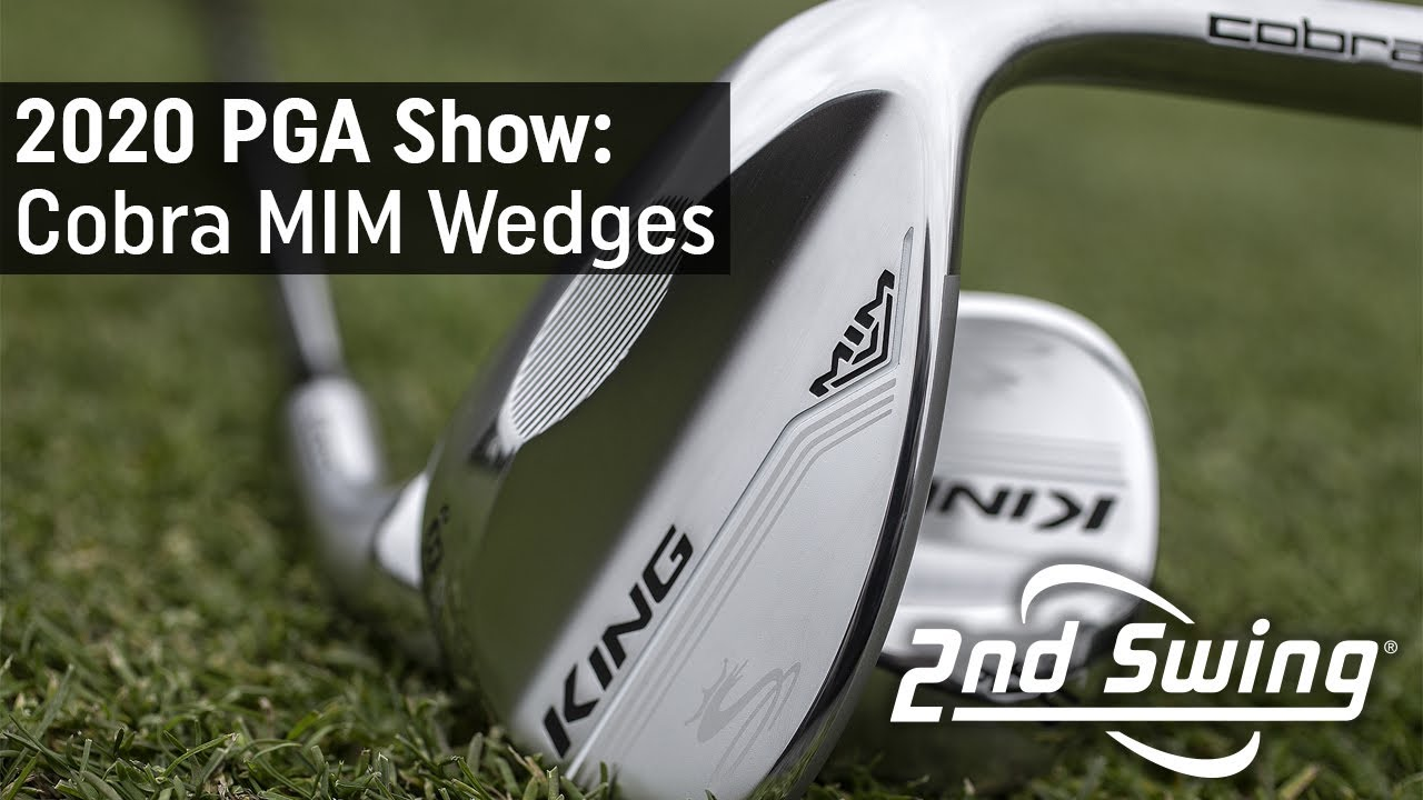 Cobra MIM Wedges | 2020 PGA Merchandise Show