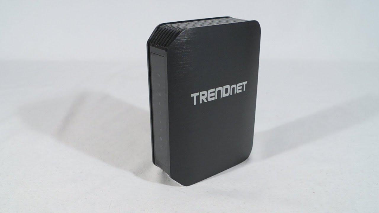 TRENDnet TEW-811DRU Wireless Router Treiber Windows 10