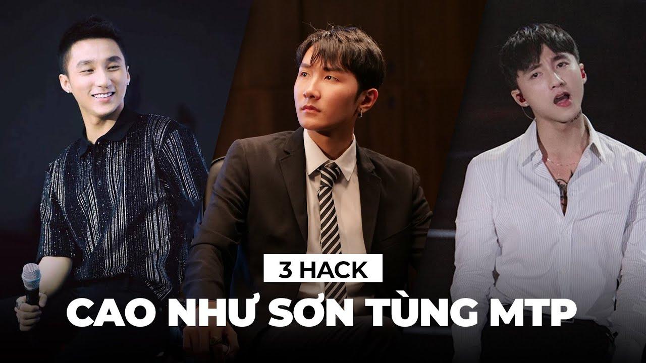 3 Hack Tăng Chiều Cao Học Từ Cách Phối Đồ Của Sơn Tùng MTP | Anh Em Nào Cao 1m65 Bơi Hết Vào Đây
