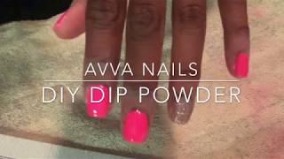 AVVA NAILS DIY DIP POWDER REVIEW