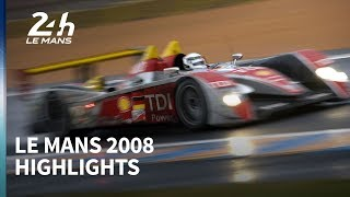 Audi's great Le Mans heist - 2008 race highlights