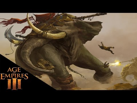 Age Of Empires 3 - Super Elephants - Age Of Empires 3 3 Player FFA