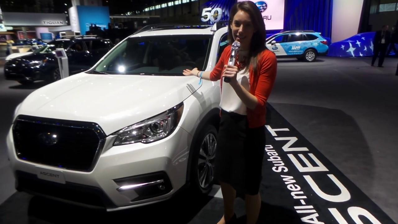2019 Subaru Ascent Chicago Auto Show Berman Subaru Of Chicago