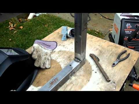 Metal Frame Cart Build