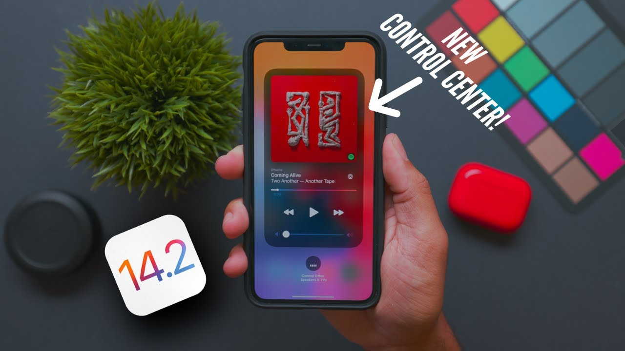 iOS 14.2 Beta 1 Released! New Control Center Features!