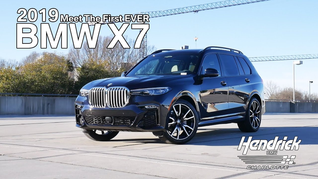 Meet The First Ever 2019 Bmw X7 Hendrick Bmw Charlotte Nc Youtube