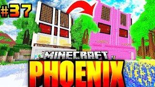ICH hab SEIN HAUS PINK GEFÄRBT?! - Minecraft Phoenix #037 [Deutsch/HD]