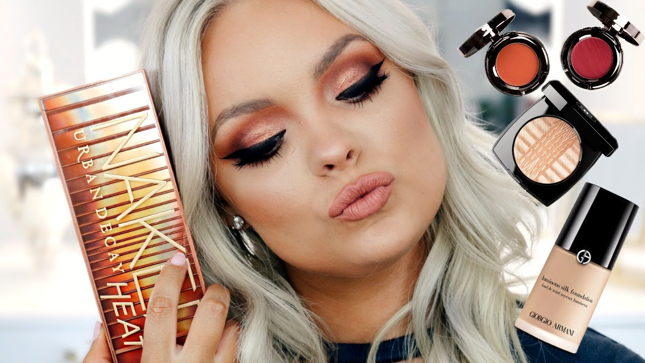 MAKEUP TUTORIAL| URBAN DECAY Naked HEAT PALETTE - Citizens