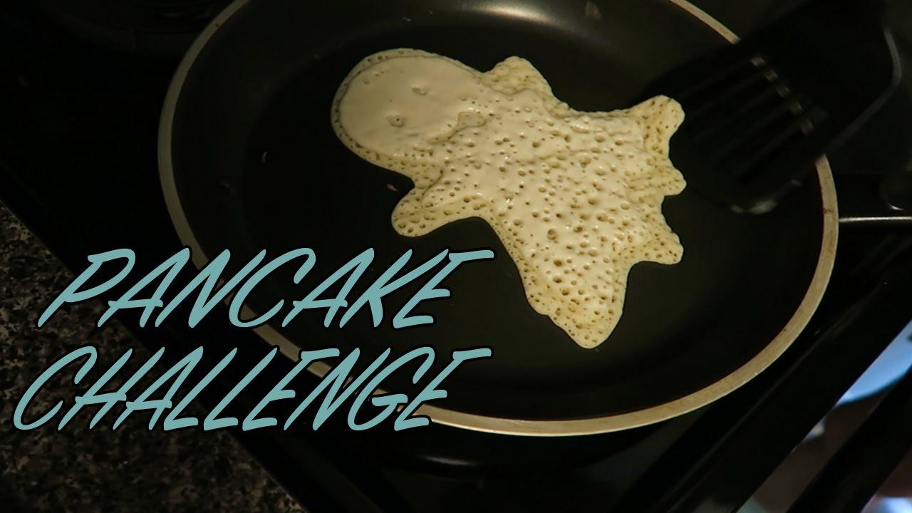 Pancake Art Challenge : PANCAKE ART CHALLENGE!! (6-23-15) [34] - YouTube