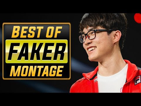 "Faker ""Playmaker"" Montage 2018 