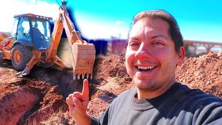 We Moved 1,100,000 Pounds of Soil For Our Off-Grid Debt Free House