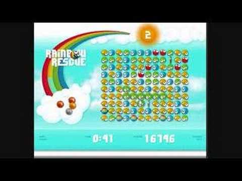 Rainbow Rescue. King.com Game. Score 40K+
