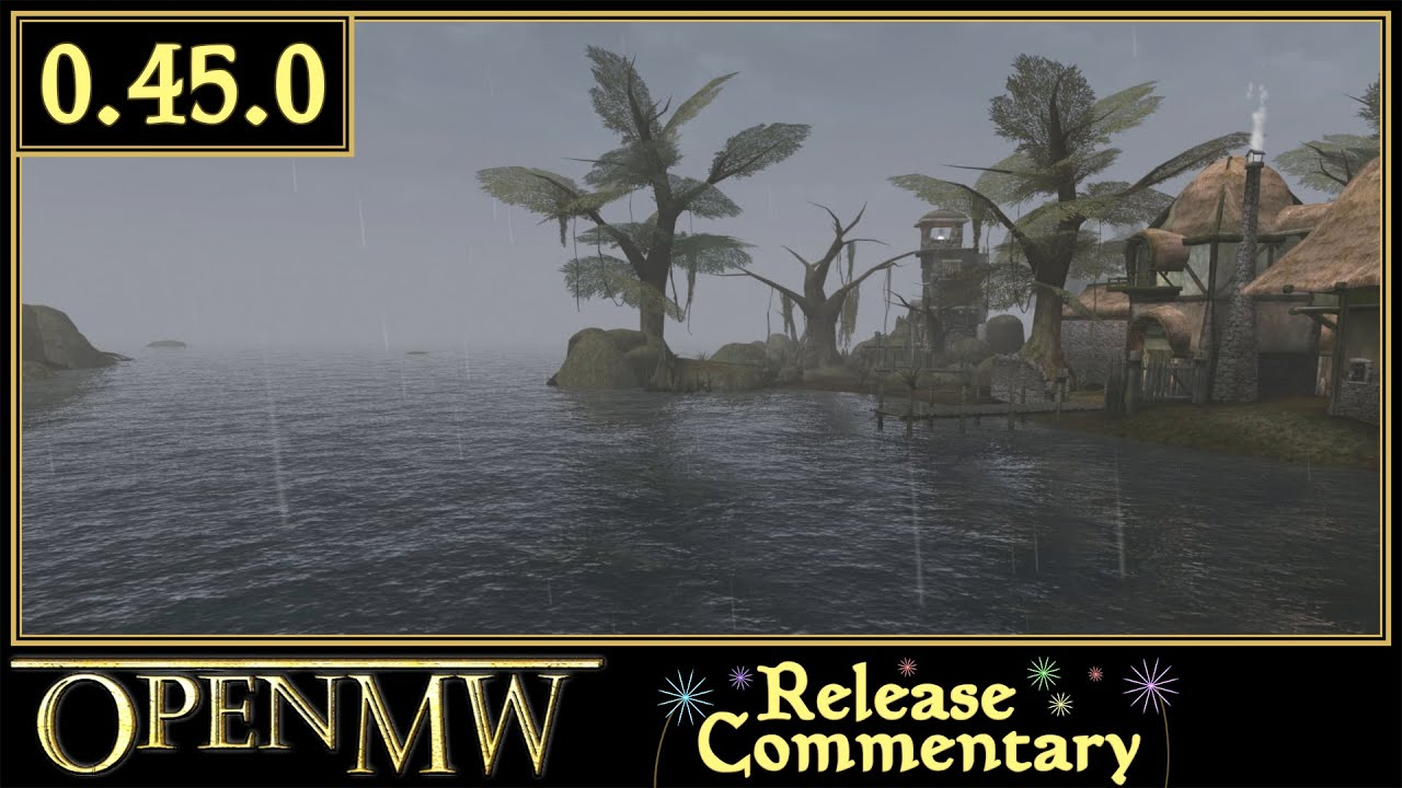OpenMW, Open source Elderscrolls III: Morrowind reimplementation