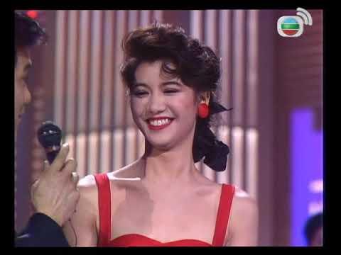 1990年香港小姐競選決賽 (下) | 袁詠儀(冠軍),翁杏蘭(亞軍), 梁小冰(季軍) | TVB 1990 - YouTube