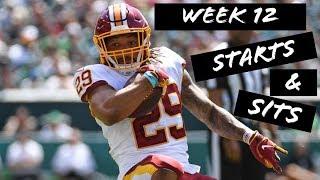 Fantasy Football Week 12: Starts & Sits
