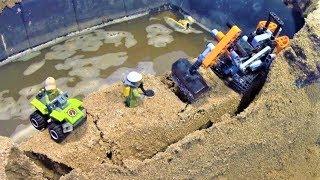 LEGO DAM BREACH - HARD FLOOD!
