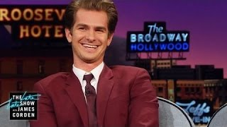Andrew Garfield: Extreme Sleep Talker - The TVShow