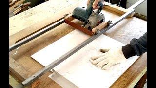 Corte reto com serra mármore