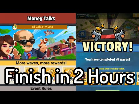 dle Mafia Tycoon Manager   Finish Money Talks Event in 2 Hours Without Diamonds   Walkthrough