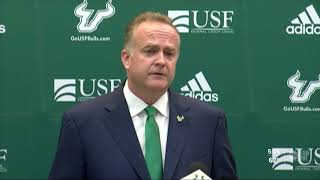 Usf Officially Announces Charlie Strong Firing