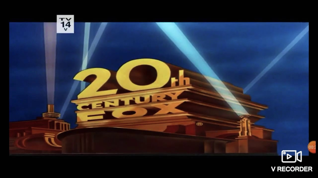 20th Century Fox (1988) (Normal Tone) with TV-14 V rating.