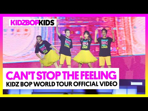 Смотреть клип Kidz Bop Kids - Can't Stop The Feeling!