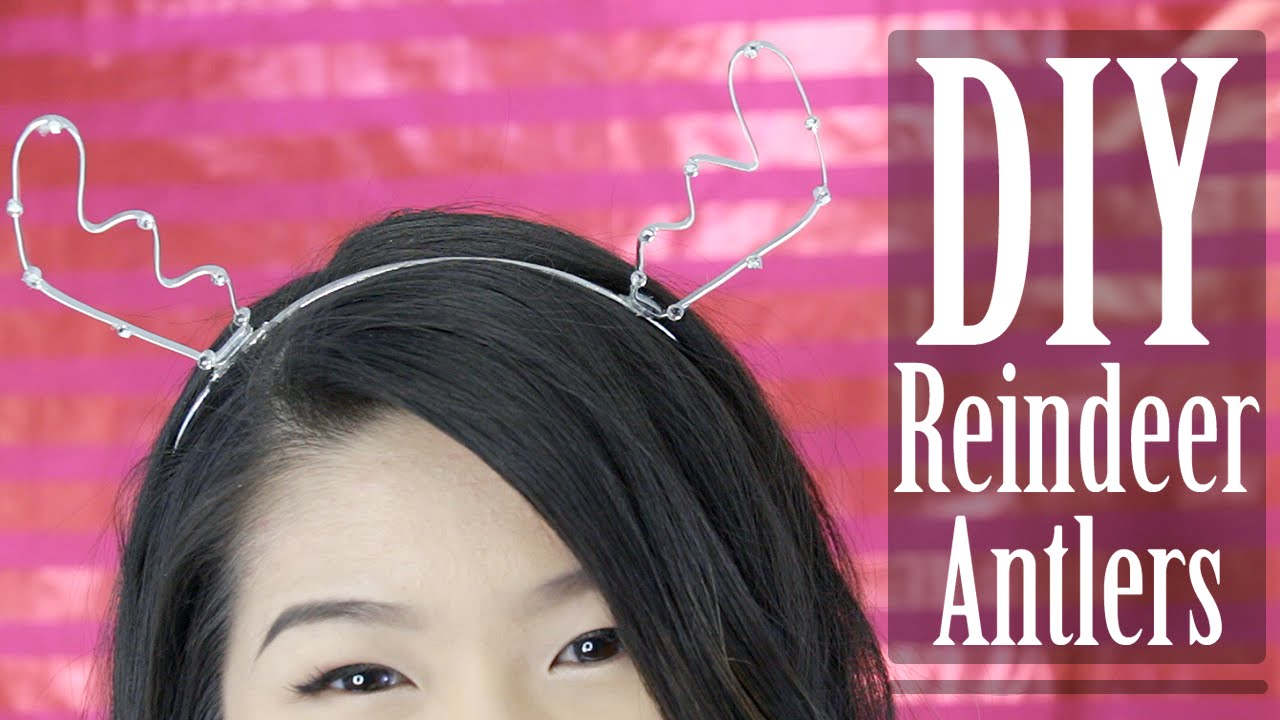 Diy Wire Reindeer Antlers Center Single Pole Double Throw Heavy Duty Toggle Switch 80512 How To Holiday Antler Headband Eva Chung Youtube Rh Com Rudolph