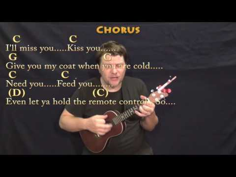 Grow Old With You (Adam Sandler) Ukulele Cover Lesson in G with Chords/Lyrics