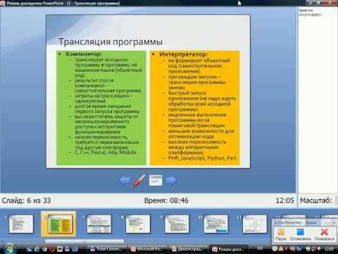 ОАиП. Лекция 3 Трансляция программы: этапы генерации кода и средства разработки