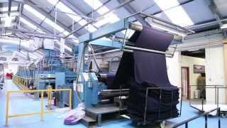 Bruckner stenter dryer 2 2m wide 6bay for sale