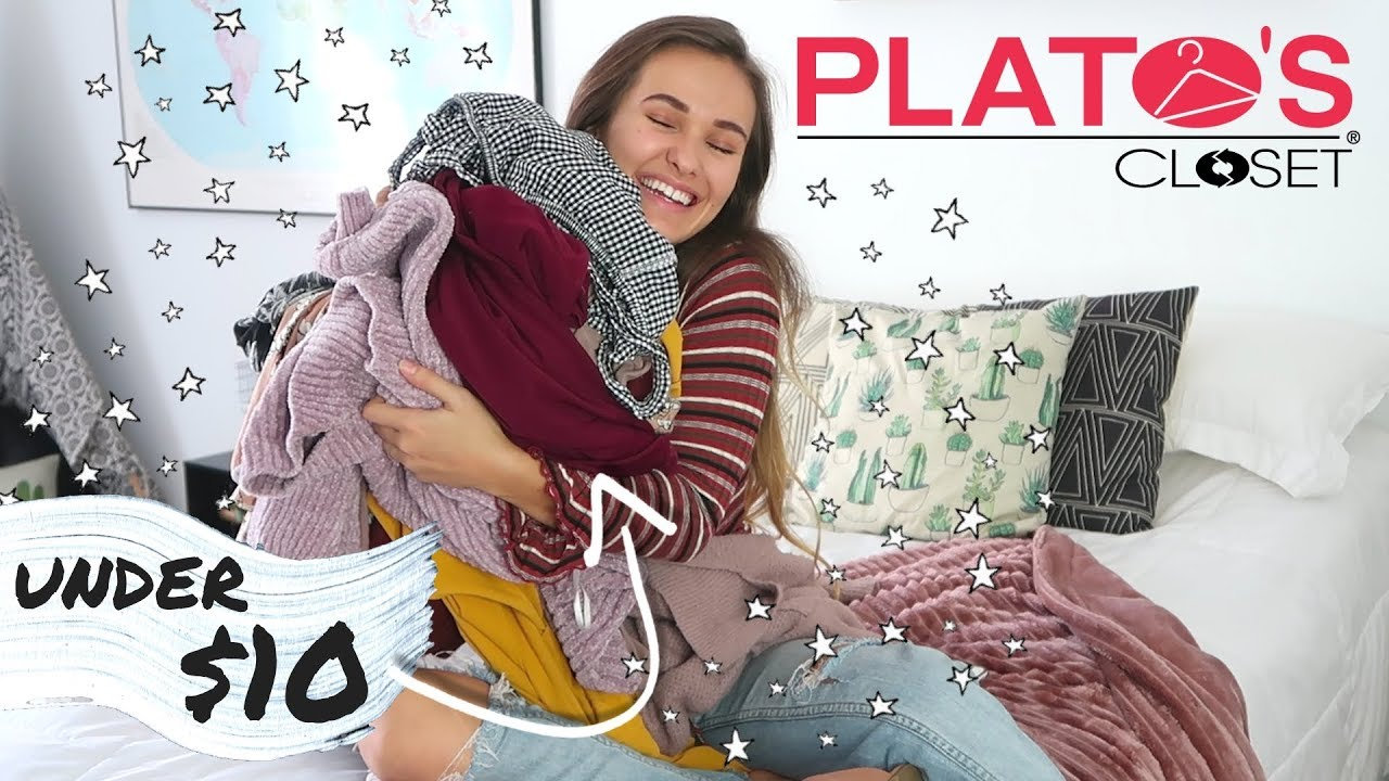 f4921c6ce81 PLATOS CLOSET TRY-ON THRIFT HAUL 2019 (Honest Review) - YouTube
