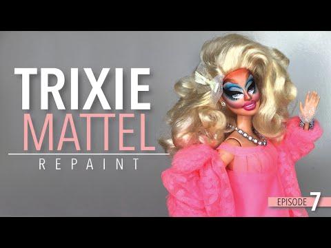 Trixie Mattel Barbie Repaint EP  7