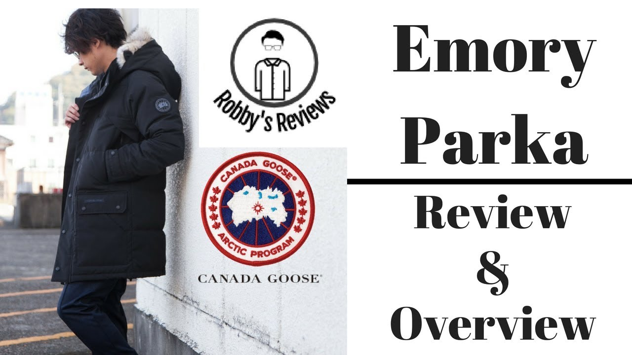 Rating and Review  Canada Goose Emory Parka - YouTube f02b630b8fb2