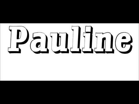 Chanson Pauline