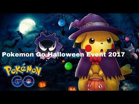 pokemon go halloween event 2017 information youtube. Black Bedroom Furniture Sets. Home Design Ideas