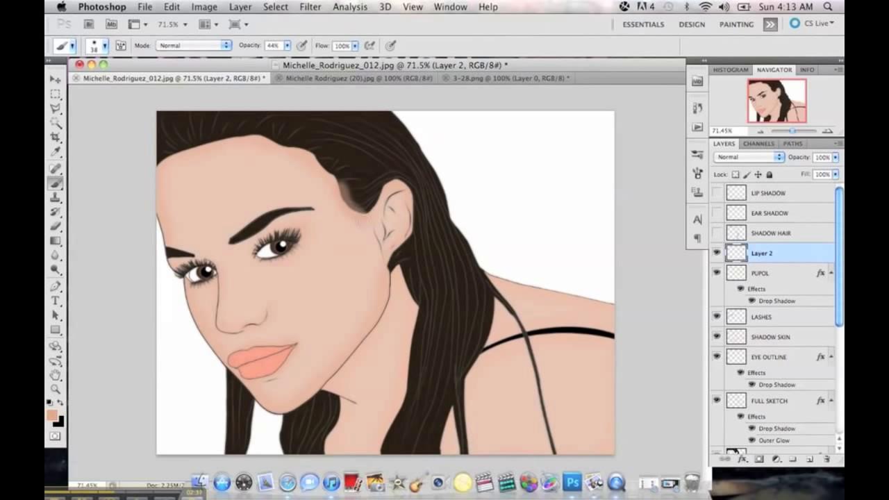 Vector art tutorial in photoshop cs5 youtube baditri Choice Image