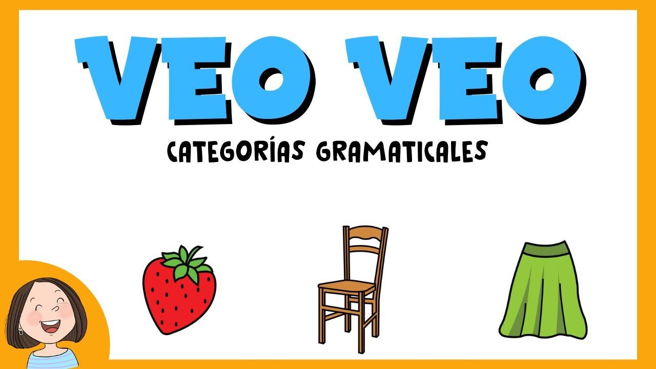 Jugamos Al Veo Veo Juego Educativo Para Ninos Youtube