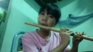 [live] Đôi cánh vô hình - Sáo trúc -  Bamboo flute