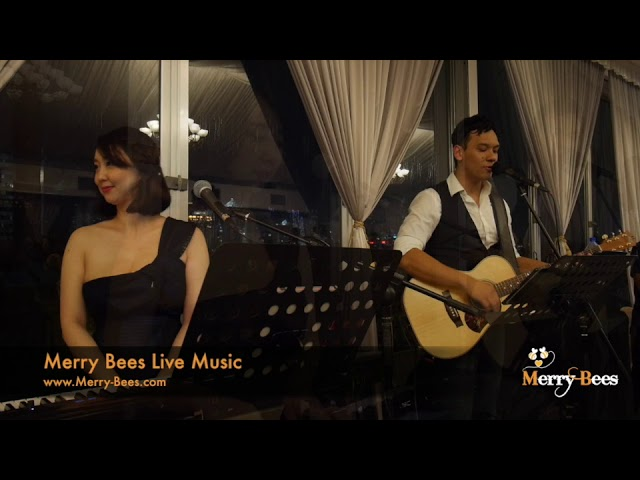Merry Bees Live Music - John & Ywenna (doubling up as Bilingual emcees)