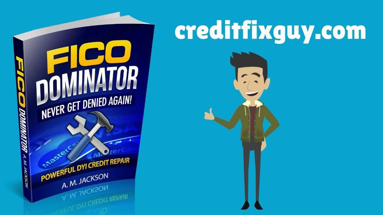 Credit repair do it yourself credit repair fico dominator diy credit repair do it yourself credit repair fico dominator diy credit repair guide solutioingenieria Choice Image