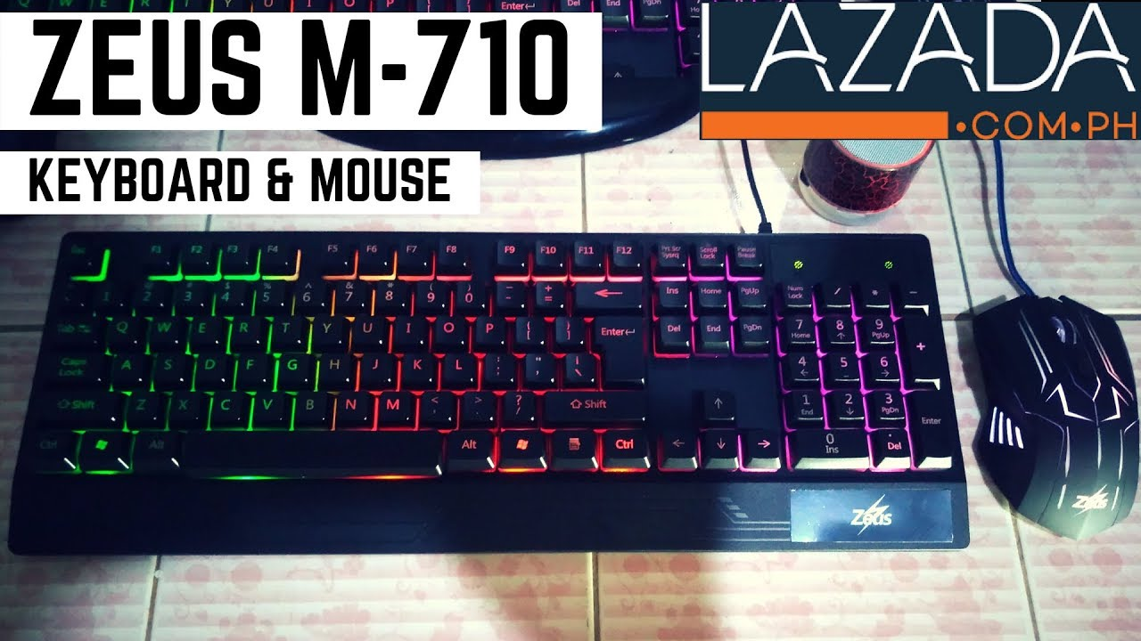 1a5791b1b63 UNBOXING Zeus M-710 Gaming Keyboard & Mouse Bundle From Lazada + ...